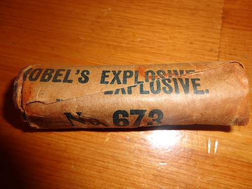 A Great Gift, Nobels No 673 Paper, removed from Canadian Made Hawkings
