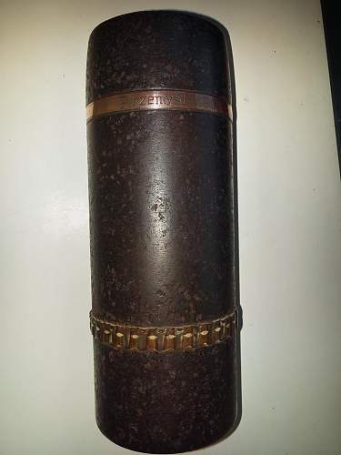 Unknown large calibre shell