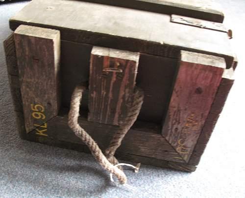 DM31 Mine Ammo Crate