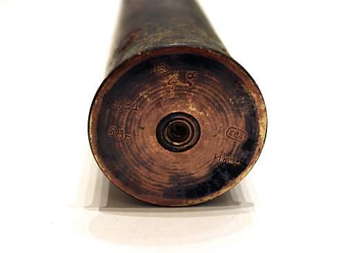 Soviet 1938 shell
