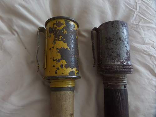 My Finnish Army hand Grenade collection