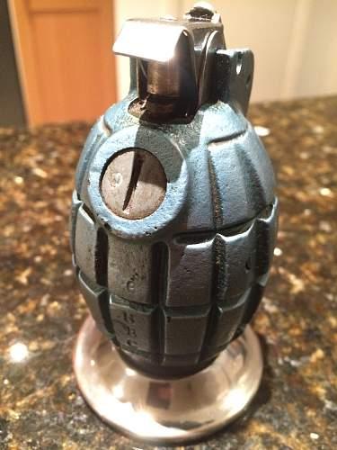 WW2 Mills Grenade Lighter