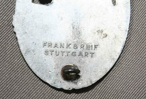 Panzerkampfabzeichen im Silber Fake Gallery