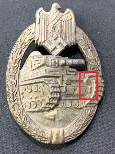Panzerkampfabzeichen, Real or Fake?