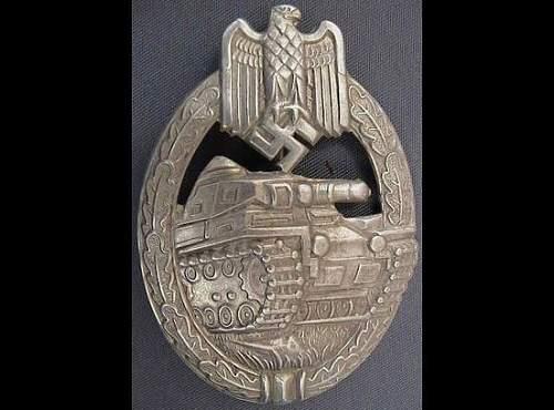 Panzerkampfabzeichen und Infanteriesturmabzeichen