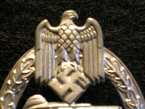 25 Panzerkampfabzeichen by Gustav Brehmer