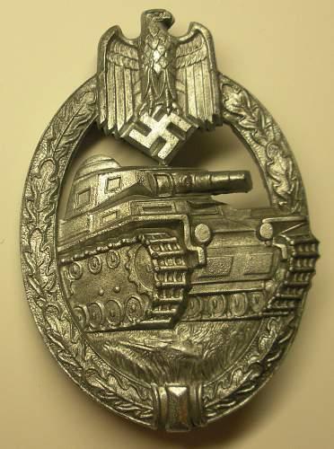 New Panzerkampfabzeichen, mm 'HA'