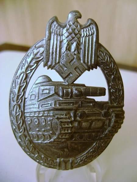 Silver F&R Panzerkampfabzeichen