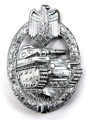 Panzerkampfabzeichen opinions needed please.