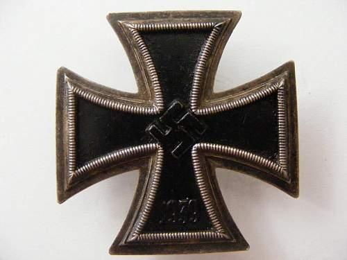 Opinions Please?  EK1, ISA, Panzerkampfabzeichen.