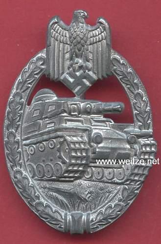 Opinions needed on Panzerkampfabzeichen FLL43!