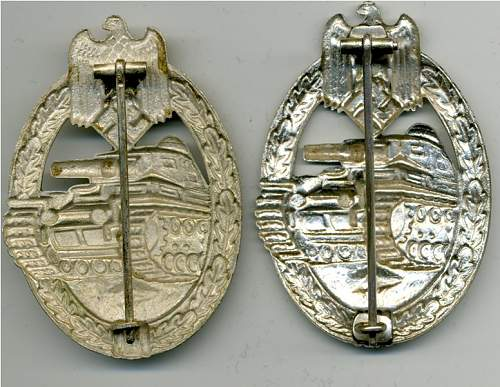 AS Marked Panzerkampfabzeinche