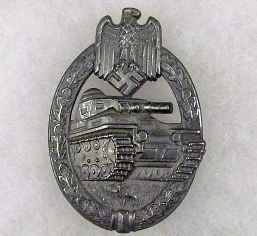 Panzerkampfabzeichen in silver,good or bad?