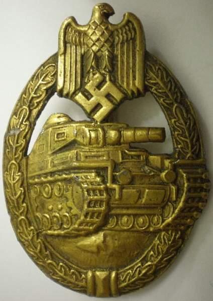 Panzerkampfabzeichen - Real or Fake?????