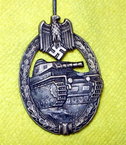 Siver Panzer Badge..Opinions?