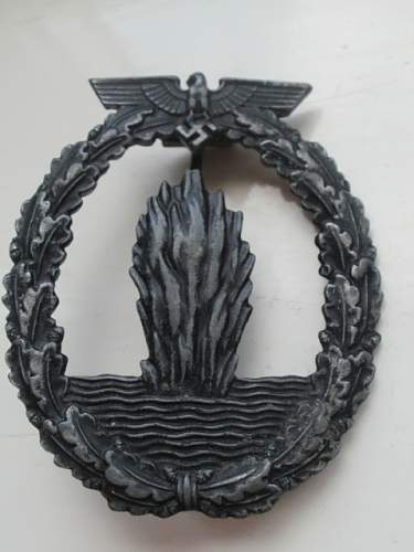 Group of TR Combat badges.