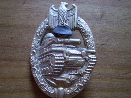 Panzerkampfabzeichen Original or Fake?