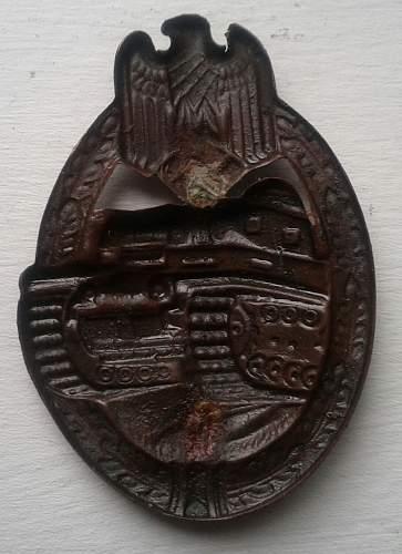 JFS Panzerkampfabzeichen/Panzer Assault Badge