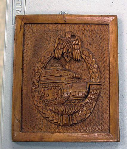Panzerkampfabzeichen POW Art