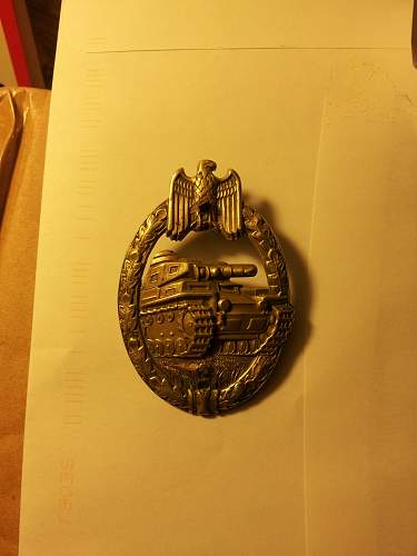 What is that!? Denazified badge