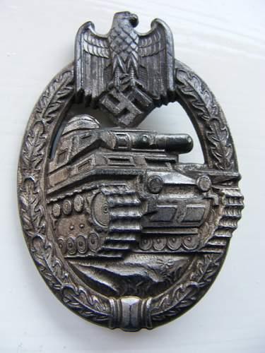 Panzer-Kampf  Badge