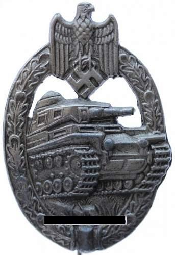 Panzerkampfabzeichnen