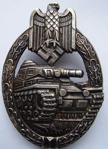 PanzerKampf Abzeichen !!