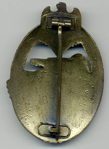 Panzerkampfabzeichen in Silber FOR REVIEW!