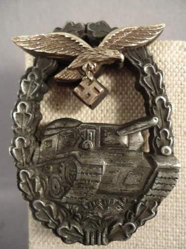 Panzerkampfabzeichen der Luftwaffe: what do you think?