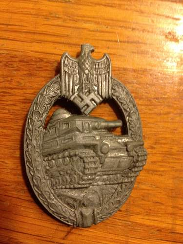 Question Panzerkampfabzeichen in Silber - Legit?