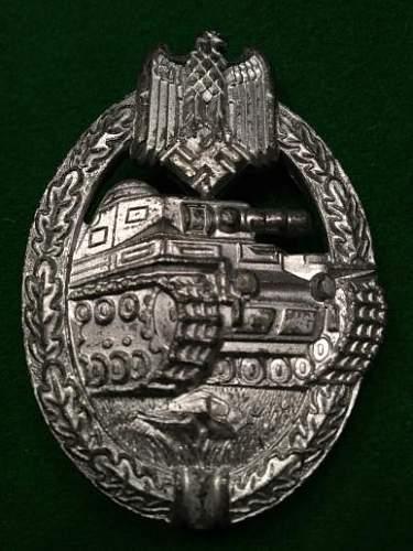 Panzerkampfabzeichen by FFL43