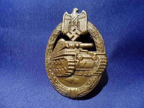 "B.H.Mayer Design Bronze PAB in Tombak (Early ""Die 1"" Type.)"