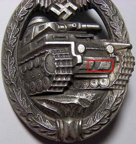 Panzerkampfabziechen in Silver
