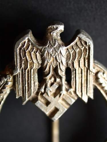 semi relic  Panzerkampfabzeichen 25