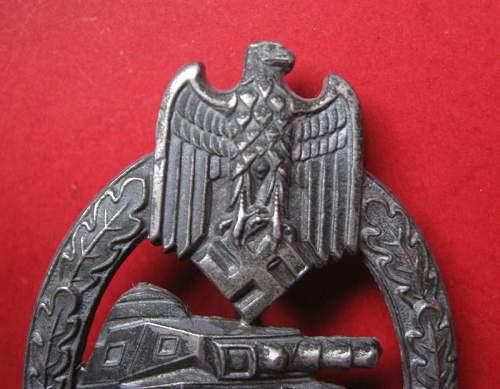 Panzerkampfabzeichen - fake??