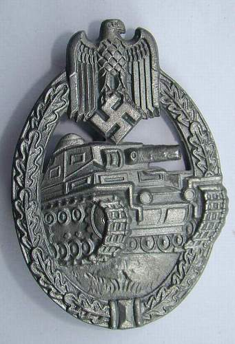 Panzerkampfabzeichen fake?