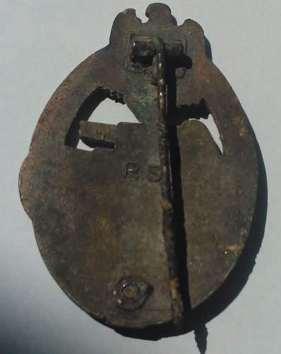 Panzerkampfabzeichen in Bronze, Rudolf Souval