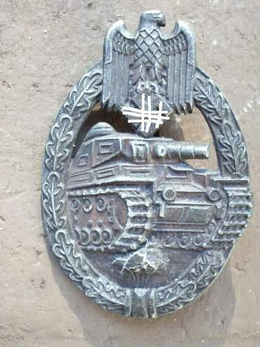 Panzerkampfabzeichen original???