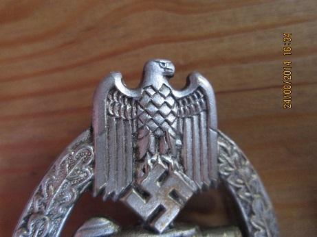 panzerabzeichen hollow ..good or crapp