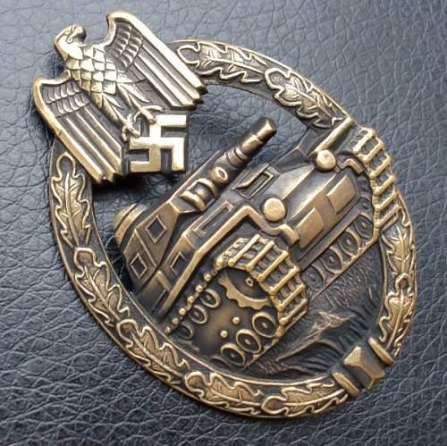 Panzerkampfabzeichen in Bronze good?