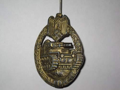 Panzer badge 2