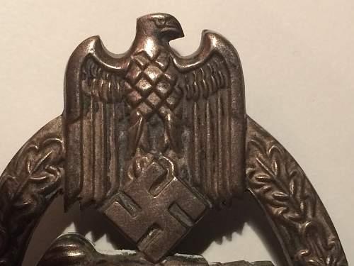 Views on a Panzerkampfabzeichen in Silber welcome