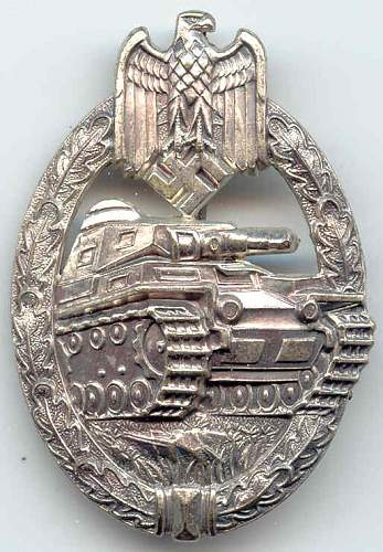 Hoping this Panzerkampfabzeichen is real, opinions please