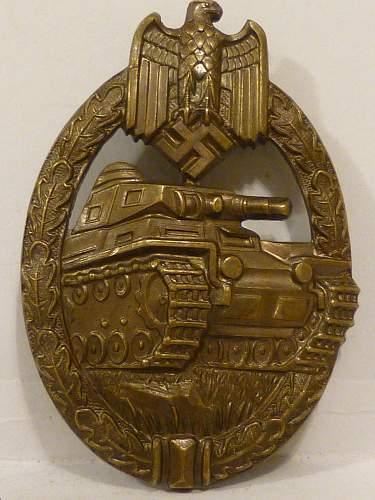 Panzerkampfabzeichen