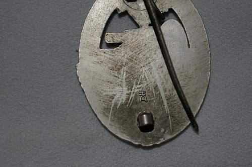 Opinions on Panzerkampfabzeichen in Silver