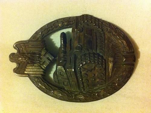 Unknown maker pab bronze ?