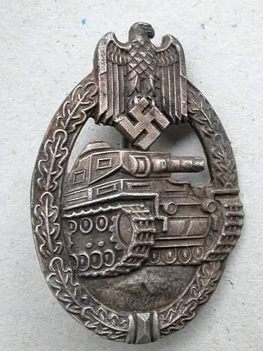 Panzerkampfabzeichen  good ?