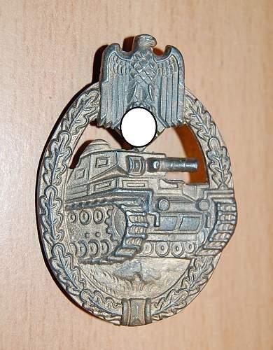 Panzerkampfabzeichen in Silber, Friedrich Orth opinions