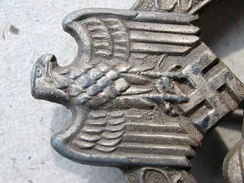 Panzerkampfabzeichen opinion