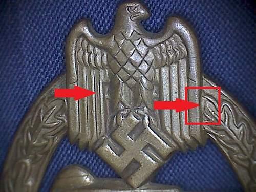 Early Panzerkampfabzeichen - Tombak Petz & Lorenz PAB in Silver.